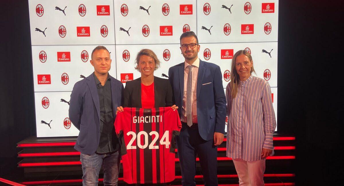 GIACINTI-A.C. MILAN FINO AL 2024!